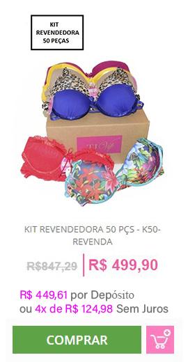 Kit Revendedora 50 Peças - K50-REVENDA